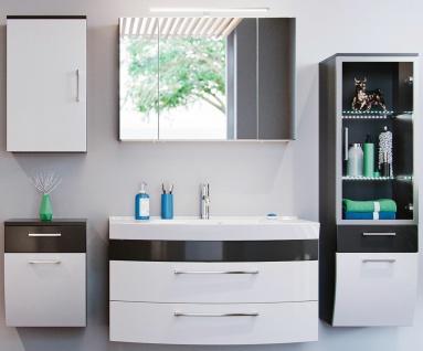 Badmöbelset Rima Badset 5 Teile Waschtisch 82 cm Badezimmer-Möbel Badeinrichtung