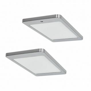 Flächen-LED Küchen Unterbauleuchte 2x4, 8 W Unterbaulampe Dimmer Sensor *571642