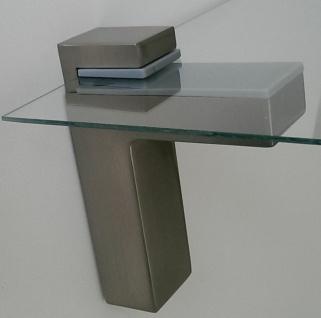 Regalbodenhalter Regalbodenträger 8-50 mm Edelstahl Optik Regalhalter *506-07 - Vorschau 3