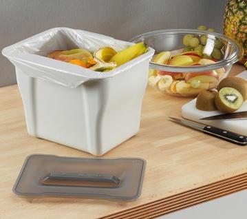 Wesco Komposteimer mit Deckel Bioeimer Küche Abfalleimer 5 Liter Biotonne *40739 - Vorschau 4