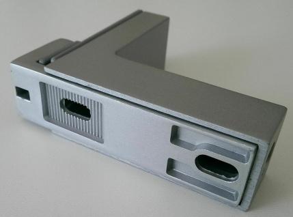 Regalbodenhalter 8-50 mm Regalbodenträger silber Regalhalter Bodenhalter *506-08 - Vorschau 5