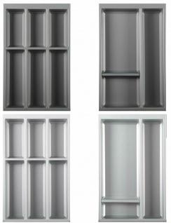 Besteckeinsatz 60-120 cm Besteckkasten Einlegematte für ArciTech und Blum Zarge