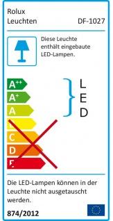 Rolux LED Einbaustrahler dimmbar 4x3 Watt Edelstahl Optik Bobby warmweiß *554102 - Vorschau 3