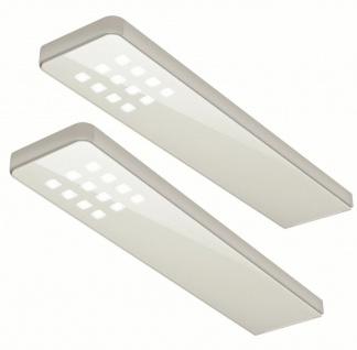 LED Küchen Unterbauleuchte mit Dimmer 2x5 W Sensorschalter neutralweiß *555000