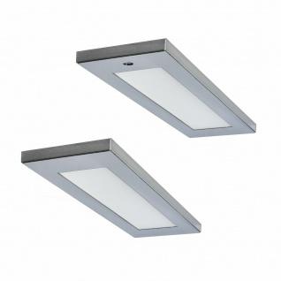 LED Unterbauleuchte Küchenleuchte 2x4 W Flächen-LED warmweiß Mona Sensor *571581