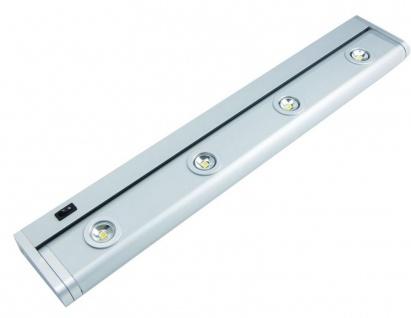 LED Küchen Schrank Unterbau Schwenkleuchte 520 mm Lichtleiste 4 x 1 Watt *30585