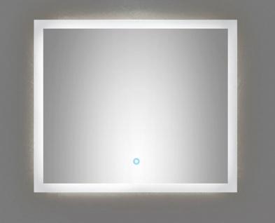 LED Badezimmer Wand Spiegel EMOTION 70 x 60 cm Touch Bedienung 34 W 4500 K *7060