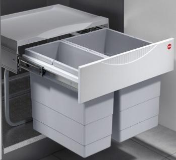 Mülleimer Küche 30 Liter Hailo Einbau Abfalleimer Müllsammler ...