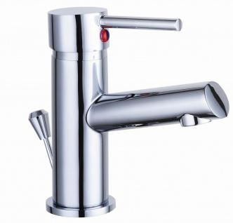Badarmatur mit Zugstange Waschtischarmatur Wasserhahn Signa Einhandmischer *8910