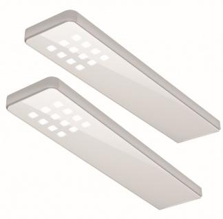 2-er Set LED Küchen Unterbauleuchte 2 x 5 W Neutralweiß Konverter Sensor *555000