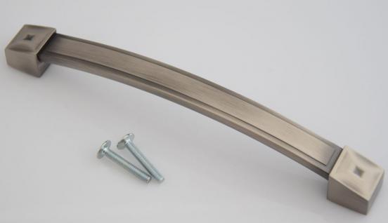 Schrank Küchengriff BA 160 mm Dunkel gebürstet Landhausstil Tür Möbelgriff *628
