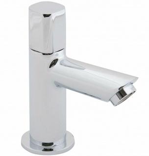 Standventil Kaltwasser Wasserhahn chrom Armatur Kaltwasserhahn Gäste WC *0466