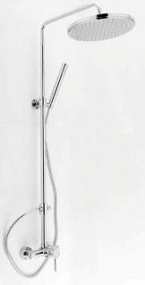 Bad Dusche Kopf-/Handbrause höhenverstellbar 95-125 cm Duschpaneel Stange *0806