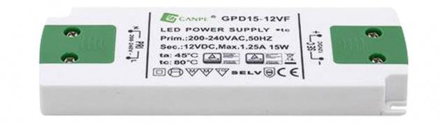LED Konverter 75 Watt passend für max 5 PINE Unterbau Panelleuchten 30660 *30661