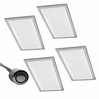 LED 4er Unterbauleuchte Küche 4 x 6 W Küchenleuchte Unterbaulampe Dimmer *567867