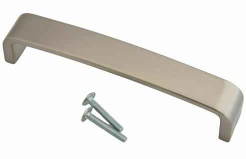 Küchengriffe BA 128 mm Möbelgriff Schrankgriff Griffe Küche Edelstahl Optik *612 - Vorschau 1