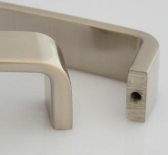 Küchengriffe BA 128 mm Möbelgriff Schrankgriff Griffe Küche Edelstahl Optik *612 - Vorschau 5