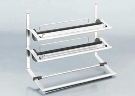 Kesseböhmer Linero 2000 Rollenhalter Küchenrollenhalter mit Abrisskante *521500