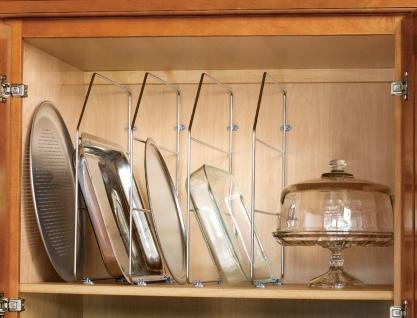 4 Stück Trennelemente Schrankeinteilung Ordnungssystem Küche Schrankeinteilung