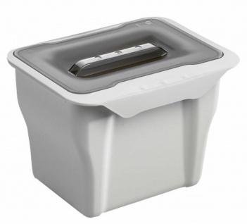 Wesco Komposteimer mit Deckel Bioeimer Küche Abfalleimer 5 Liter Biotonne *40739