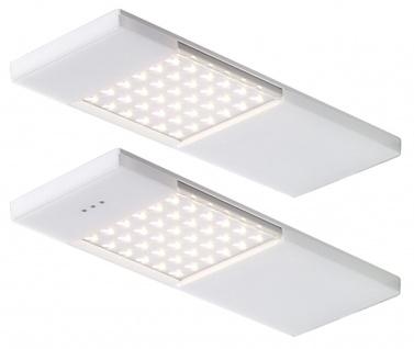 LED 2-er Set Küchen Unterbauleuchte SAMBA 2 x 4 Watt 3000 K Warmweiss *549030