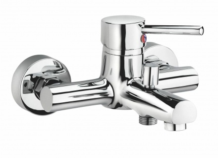 Badewannenarmatur Wasserhahn Wanne Einhandmischer Badewannen Armatur Carlo *0416