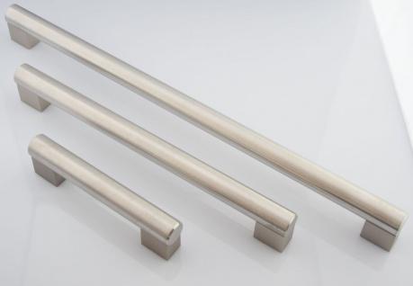 Stangen Küchengriff Ø 22 mm Edelstahl gebürstet BA 288, 448 mm Möbelgriffe *RG11