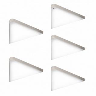 LED Unterbauleuchte Küche 4x5 W Dreieckleuchte Küchenleuchte mit Dimmer *571499