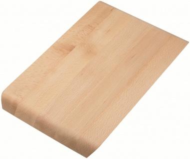 Schneidbrett Holzbrett 36 cm Buche passend für Alveus Küchenspülen Line *1064565