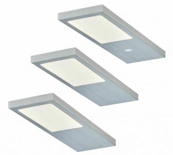5-er Set LED Küchen Unterbauleuchte FJONA 5 x 2 5 W Masterschalter Licht*556380