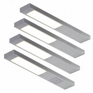 LED Unterbauleuchte Küche 4x2, 2 W Unterbaulampe Neoplan Sensorschalter *551705