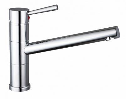 Niederdruck Küchenarmatur Wasserhahn Delta Spültischarmatur Einhandmischer *1160