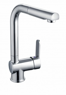 Niederdruck Küchenarmatur Spültischarmatur ausziehbare Brause Wasserhahn *1110