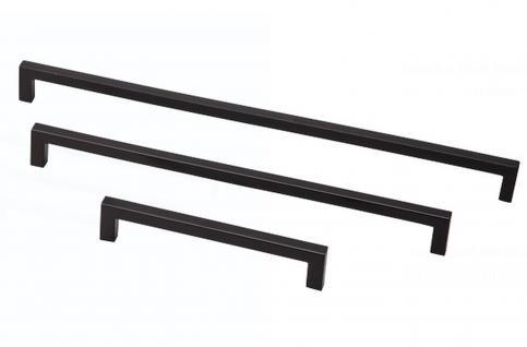 Kommoden Bügel Möbelgriff BA 160, 224, 256 mm Schrank Bogen Tür Küchengriff *818