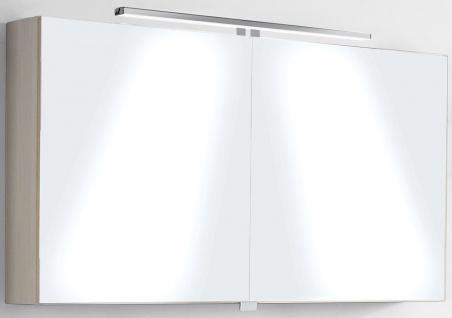 LED Spiegelschrank 111 cm Badspiegel 10 W Schalter Steckdose IP21 4200 K *Twinny