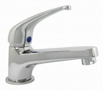 Kaltwasser Standventil Waschschale Gäste Bad Armatur Einhandmischer chrom *0620