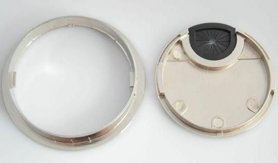 Kabeldurchlass Ø 60 - 80 mm Kabeldose Metall Kabeldurchführung Schreibtisch *524 - Vorschau 2