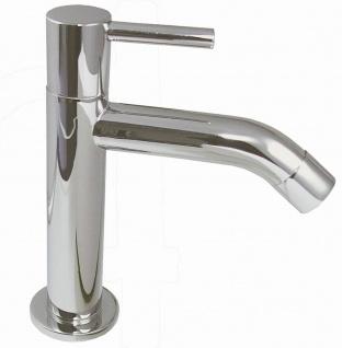 Kaltwasser Standventil Gäste Bad Armatur hoher Auslauf Waschtischarmatur *0610
