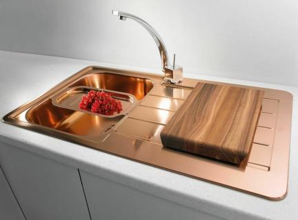 Alveus Küchenspüle Einbauspüle Spülbecken LINE 20 Kupfer Abwaschbecken *1068985 - Vorschau 5