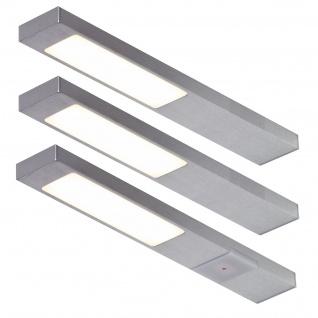 LED 3-er Set Küchen Unterbauleuchte NEOPLAN 3 x 2, 2 Watt Sensorschalter *551699