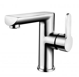 Küchen Badarmatur Wasserhahn Mischbatterie Einhand-/Einhebelmischer Chrom *0380