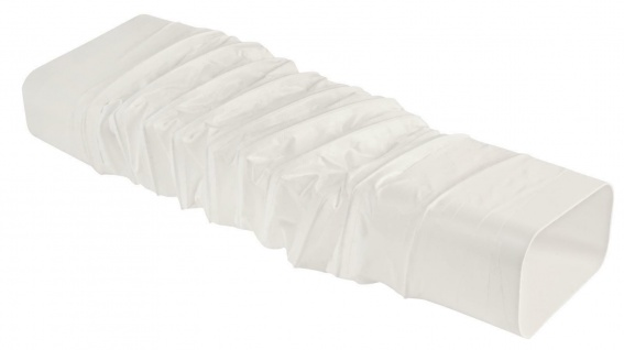Flexschlauch Abluft 40 cm flexibel Flachkanal 150x70 mm ohne Muffen *526932