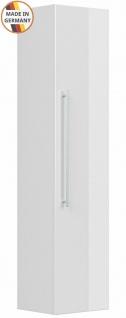 Badezimmer Hochschrank Homeline Badschrank 35x150 cm Seitenschrank Badmöbel