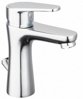 Waschtischarmatur mit Zugstange Badarmatur Kindersicherung Einhandmischer *8920