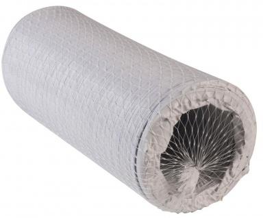 Flex Gewebeschlauch 100 cm Abluftschlauch Ø 127 mm Klimaanlage Trockner *527496