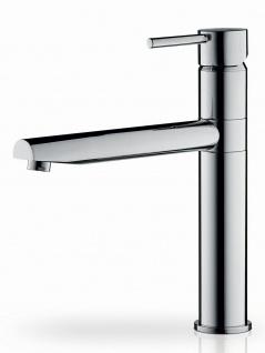 Küchenarmatur hoher Auslauf Einhandmischer Wasserhahn chrom Armatur *095101003