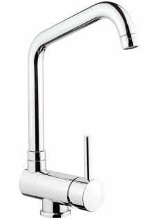 Küchenarmatur klappbar Spültischarmatur Wasserhahn Einhebelmischer Küche *0504