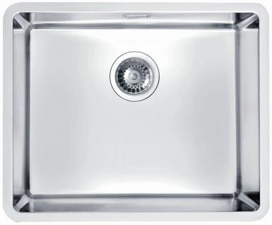 Unterbauspüle Edelstahl 54, 2 cm Küchenspüle Alveus Unterbaubecken Spüle *1102699