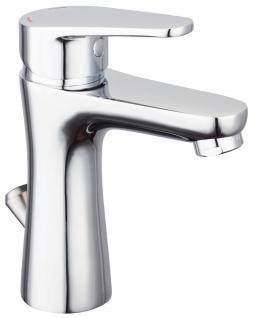 Waschbecken Badarmatur Eco Klick Funktion Wasserhahn SOLA Einhandmischer *8920
