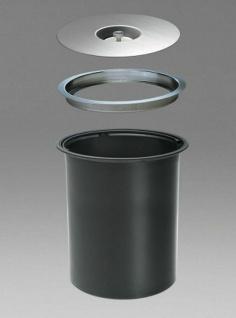 Wesco Ergomaster Küchen Mülleimer 11 L Einbau Arbeitsplatte Komposteimer *47308